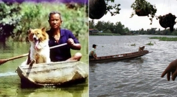 Thai Fisherman With Dog